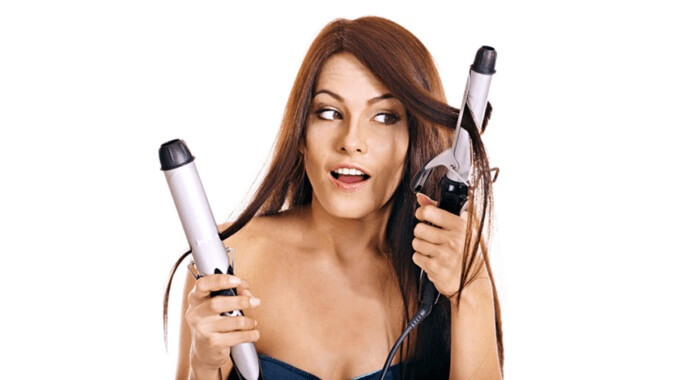 how to straightener hair quickly