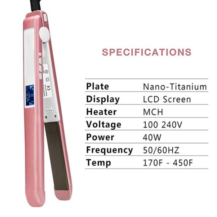 Wholesale Flat Iron LCD Custom Made Hair Straightener