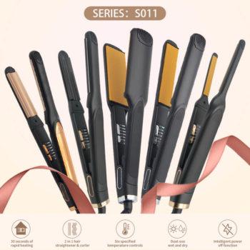 Custom Best Iron Titanium Hair Straightener Wholesale Flat Irons