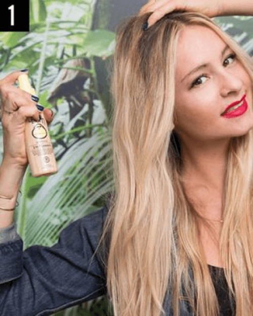 How to get beach waves hair with a straightener – A step by step guide6 (1)