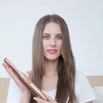 Private Label Mini Hair Straightener Travel Flat Iron Small Hair Iron