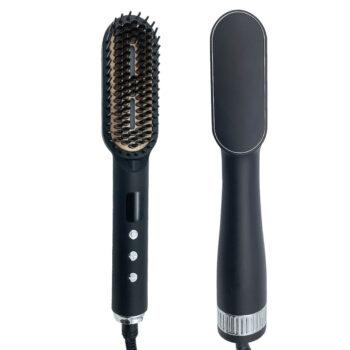 Best Straight Hair Brush Electric Flat Iron Hot Comb Hair Brush Bulk