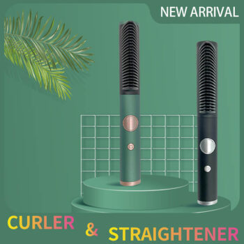 Professional Hair Straightener Brush Electric Hot Comb Wholesale